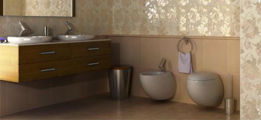 Раковины и унитазы в ванную комнату